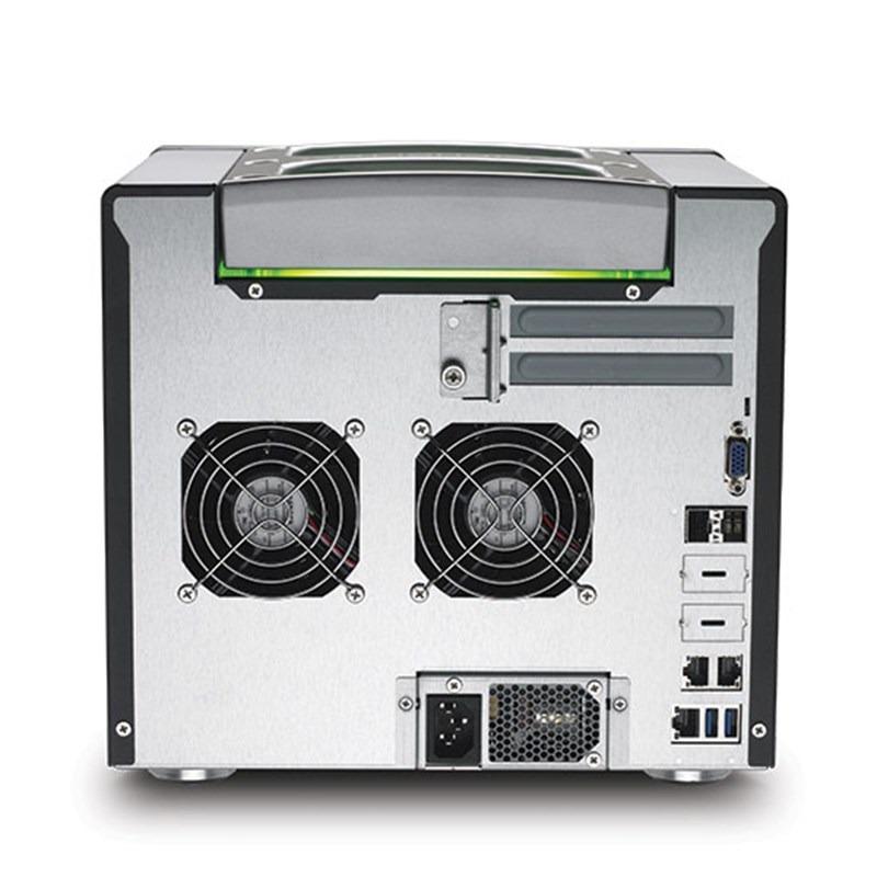 SecureNAS CX-80KSD-X Portable Server (Back)