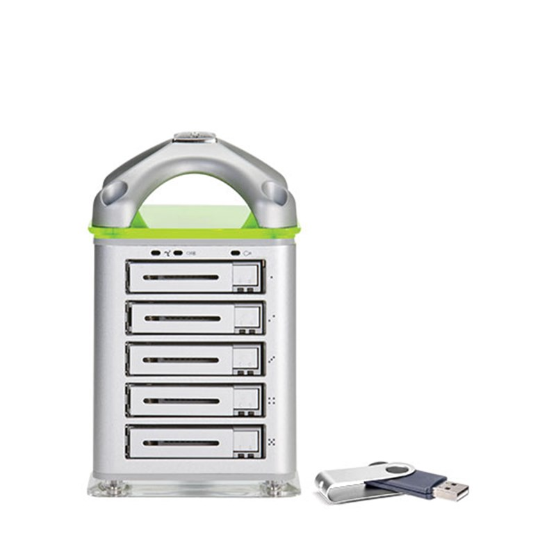 Portable CX-8KSD-NAS Data Server