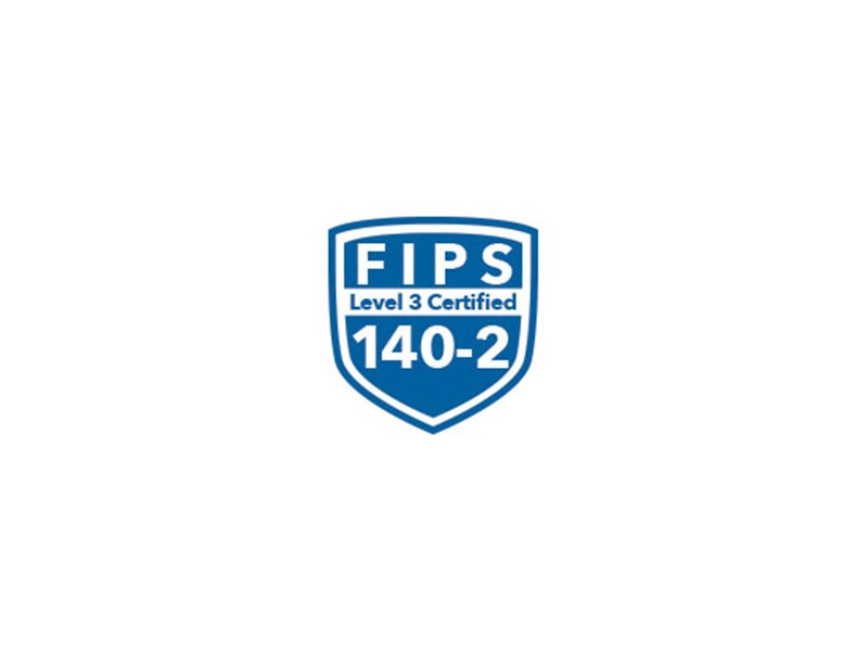 FIPS Level 3 Certified 140-2