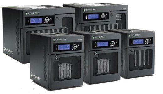 Ciphertex SecureNas Portable Servers