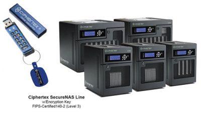 Ciphertex SecureNas Portable Servers w/Encryption Key