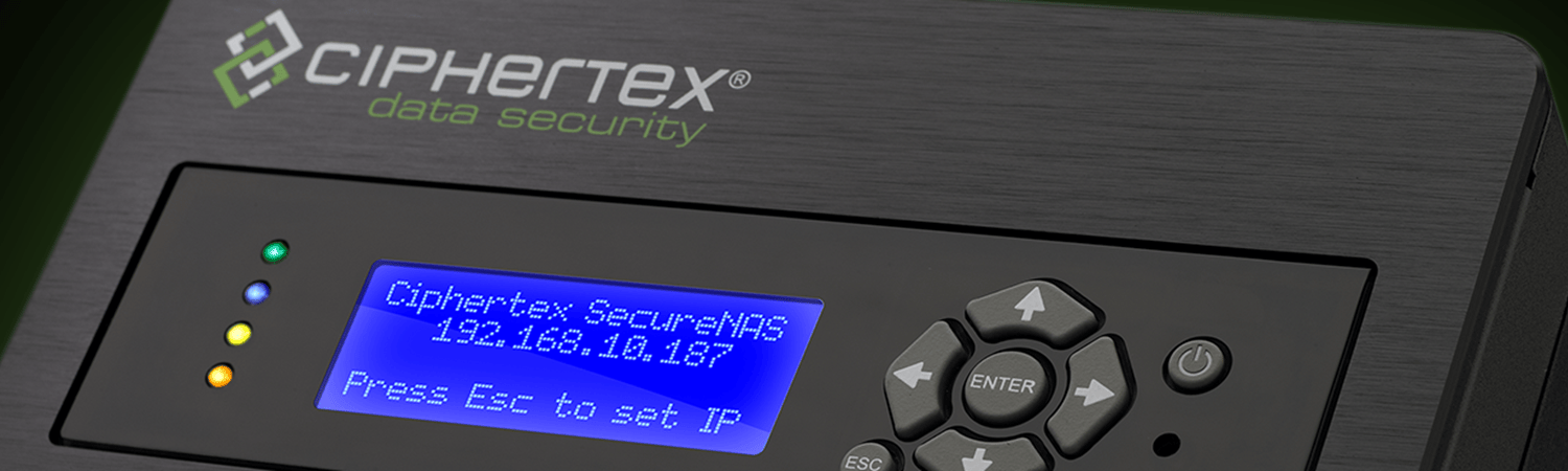 Ciphertex Secure Nas Server