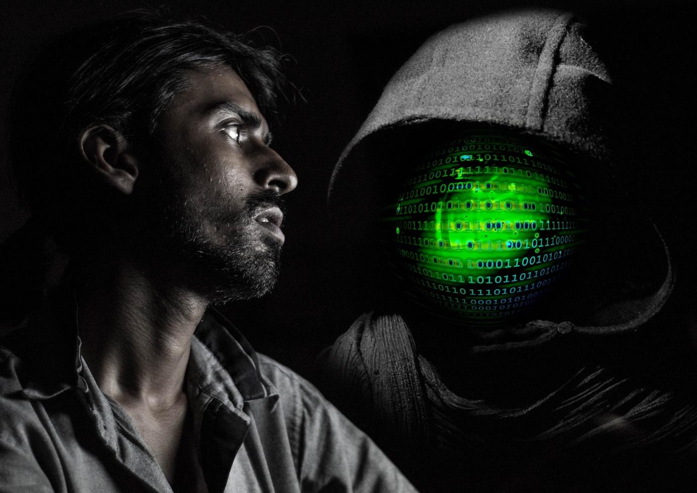 Face Hood Hacker