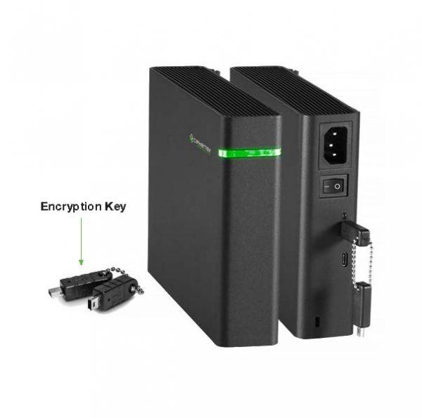 CX-3500E Portable Server & Encryption Key