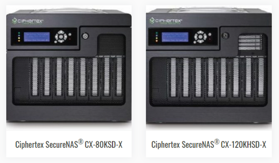 ciphertex securenas CX 120KHSD X