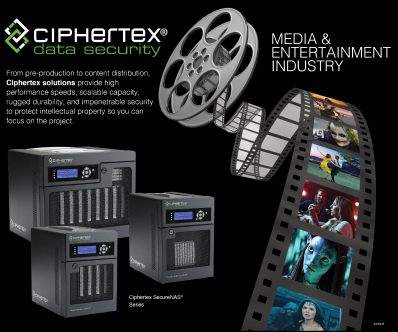 Media and Entertainment Full Data Storage Protection