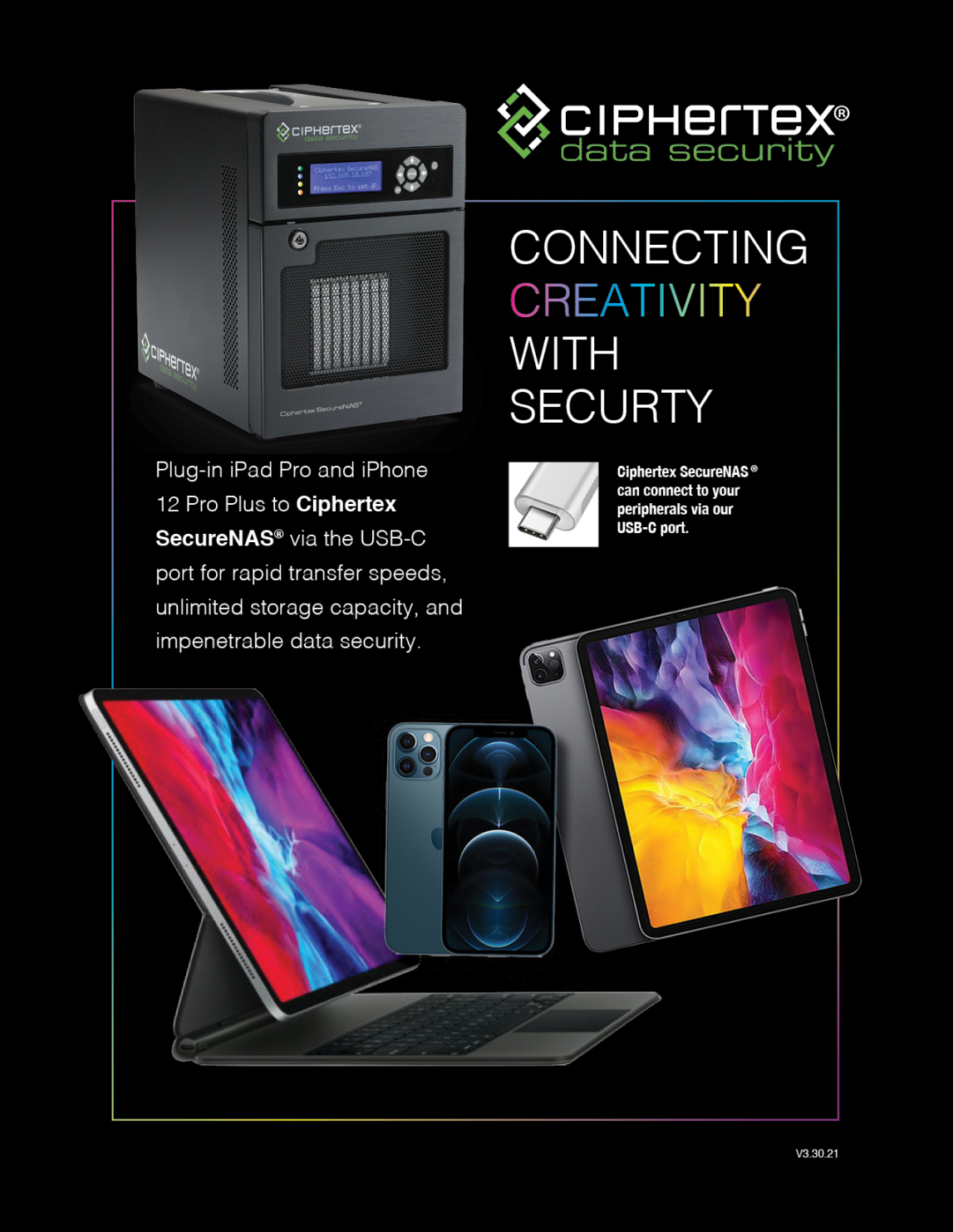 Portable Nas Servers Connectivity and Encryption